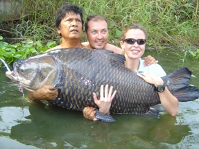 Biggest carp landed by a female angler