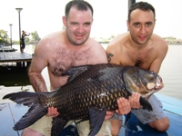 Carp fishing thailand