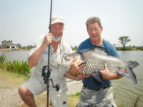 Dave & John Wilson fishing in Thailand