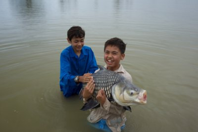 Carp fishing in Thailand at Jurassic