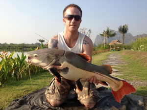 jurassic fishing in Thailand