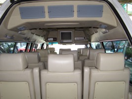 Comfortable minivans for upto 10 people