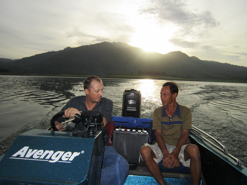 The 'Fish Thailand Explorer' is Thailand's best equiped, fasted & most professional jungle lure fishing boat around