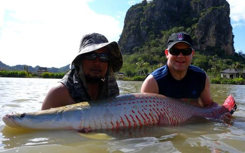 Jurassic Arapaima Fishing in Thailand