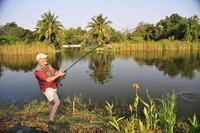 fishing in thailand at hua hin greenfield