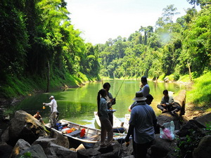 Group snakehead fishing trips to Malaysia